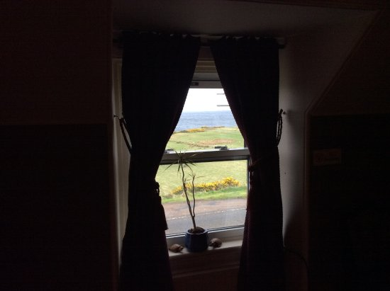 Helmsdale, UK: View from my room