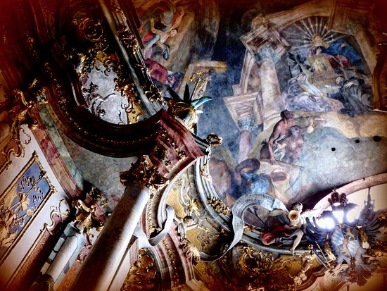 Asam Church: all the paintings!