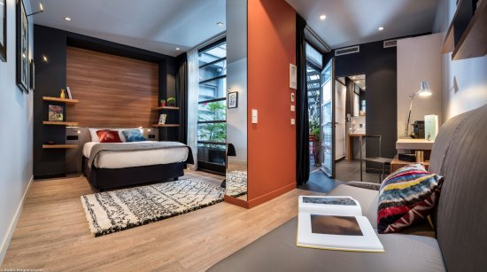 Fred Hotel: Chambre luxe (PMR)