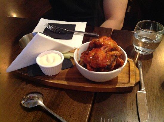Navan, Irlanda: Chicken wings