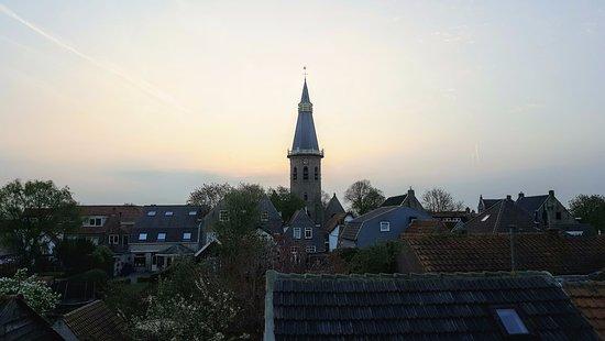 "Herberg de Natte Pij : View from the attic ""Cats suite"""