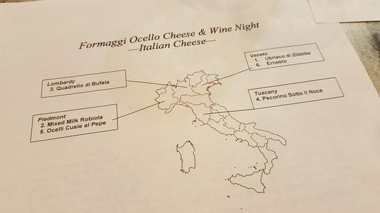 Cheese and wine night!
