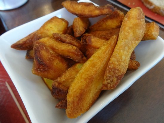 Мелан-сюр-Мер, Франция: Frites (supplément de 2 euros)