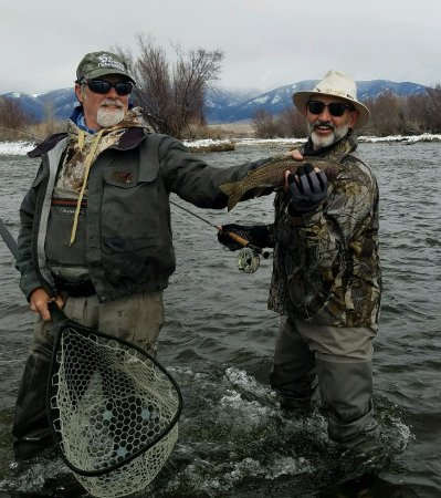 FishTales Outfitting - Day Trips: Mike is the MAN!