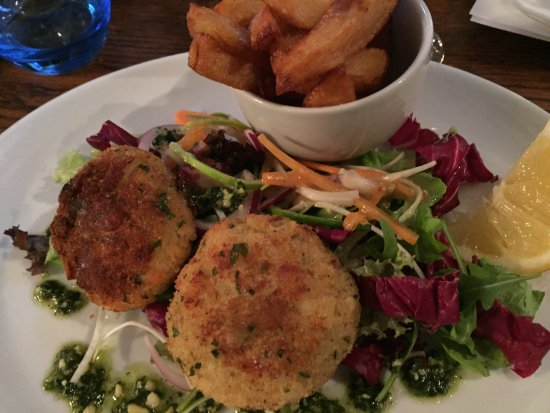 ‪‪Levisham‬, UK: Fishcakes‬