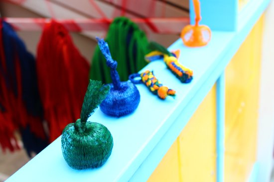 La Maison de La vache qui rit : Quelques accessoires à créer dans l'exposition Pris dans le filet