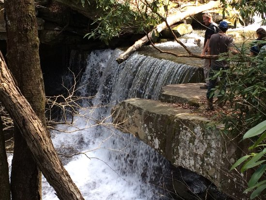 Hico, WV: Great waterfalls