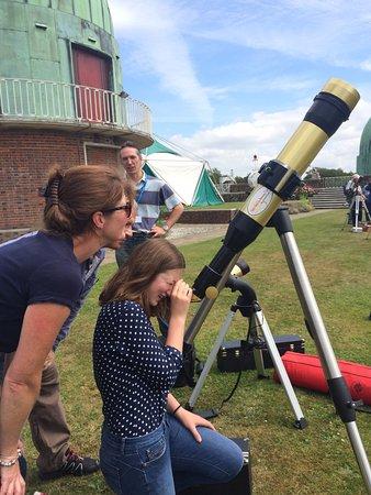 Herstmonceux, UK: Solar scope
