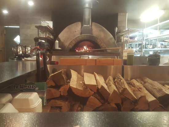 The Bench: PIzza oven