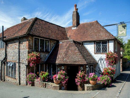 Litlington, UK: The Plough and Harrow pub © Robert Bovington