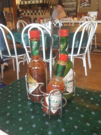 McCarthy's Restaurant : Hot sauce!