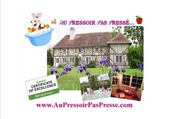 Saint-Ouen-du-Mesnil-Oger, France: Visitez notre site : AuPressoirPasPresse.com et rdv sur sur Facebook : Facebook.com/AuPPPNormand
