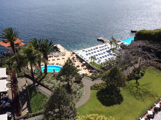 Hotel The Cliff Bay: Taken on arrival from 8th floor balcony
