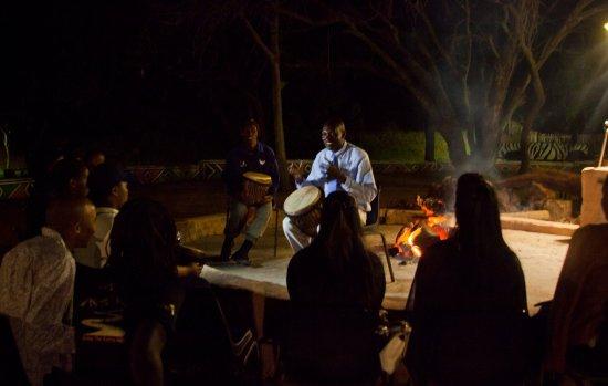 Cullinan, Sydafrika: Shebeen setup- drumming teambuilding