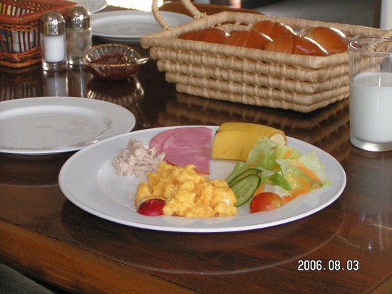 Katashina-mura, Japon : 朝食は洋食又は和食