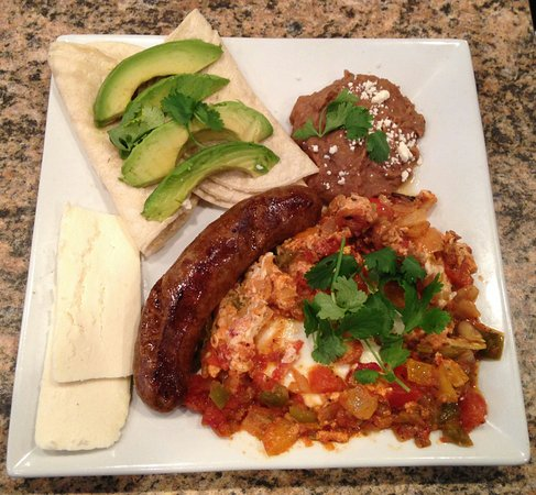 Linwood, Nueva Jersey: Barista's Huevos Ranchero
