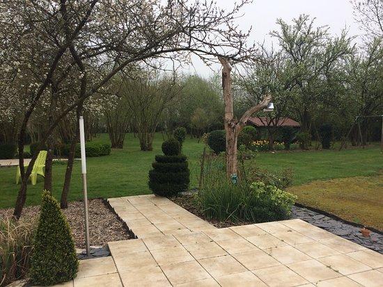 Neufchatel-Hardelot, Francia: Jardin