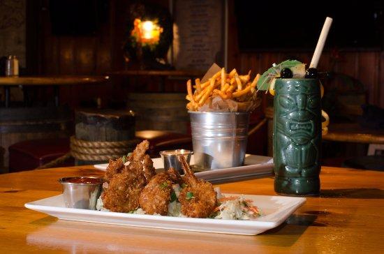 Glen Burnie, MD: Coconut Shrimp & Bucket O' Fries
