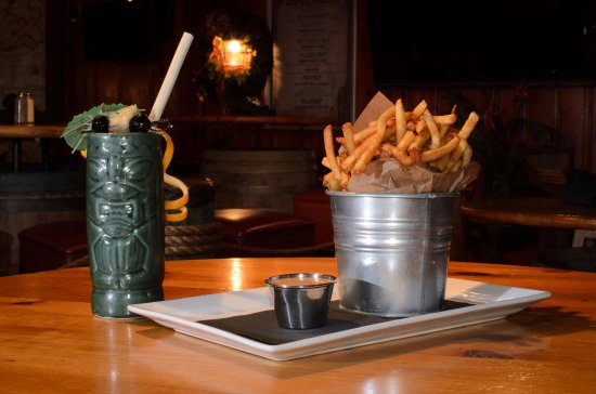 Glen Burnie, MD: Mutiny's Bucket O' Fries with our Signature Seasoning Blend and Mutiny Sauce