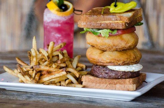 "Glen Burnie, MD: Our Signature ""Shipwreck"" Burger"