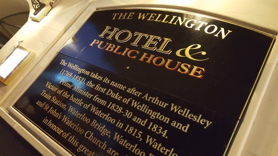The Wellington Hotel Picture Of The Wellington Hotel London