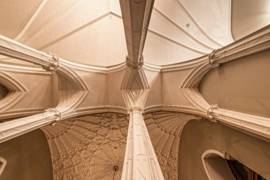 Harju County, Estonia: Columns of the Column Hall of Schloss Fall