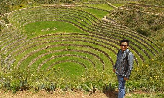 Moray Cusco Terrazas Incas Para Cultivos Picture Of