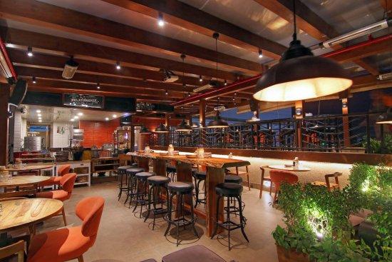 Rooftop Cafe Bar Picture Of Jaipur Adda Jaipur Tripadvisor