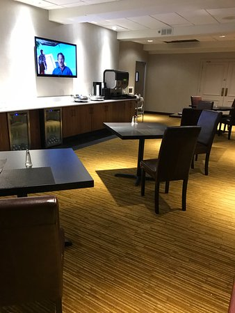 Rye Brook, Nova York: blah executive lounge - do not pay for this upgrade because it's not one