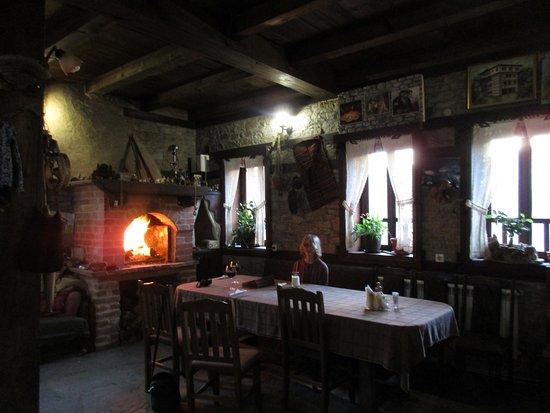 Kovachevitsa, Bulgaria: The restaurant
