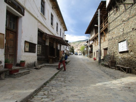 Kovachevitsa, Bulgaria: The 'main' street