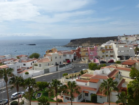 Vue de l 39 endroit o se trouve les jaccuzis bild von for Aparthotel jardin caleta costa adeje tenerife