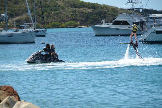 Blue Rush Water Sports And Jet Ski Rentals Inc.: Fly Boarding