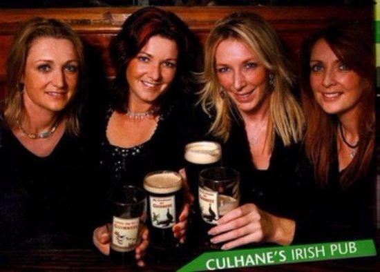 Atlantic Beach, FL: Best Pint of Guinness at Culhane's Irish Pub!