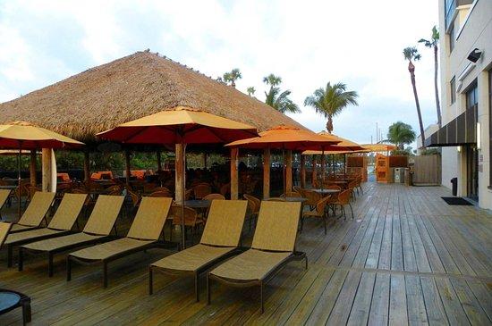 Hilton Cocoa Beach Oceanfront Pool Deck Tiki Bar