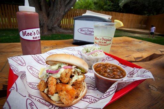 Forest City, NC: Shrimp Sandwich meal