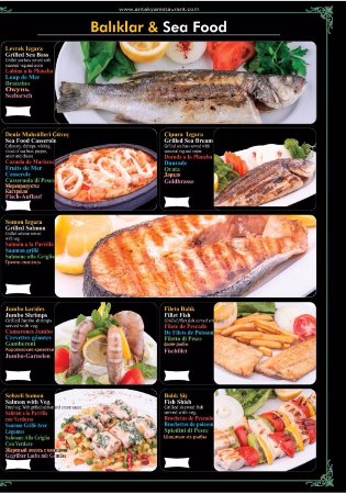 Antakya restaurant istanbul restaurantanmeldelser for Daily fresh fish