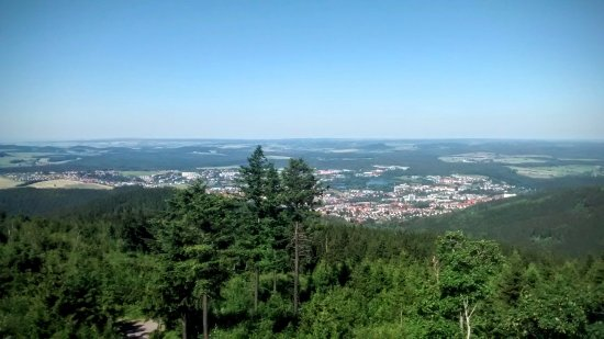 Ilmenau, Alemania: The view from the top