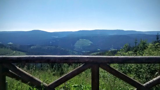 Ilmenau, Alemania: Enjoying the view with a beer here