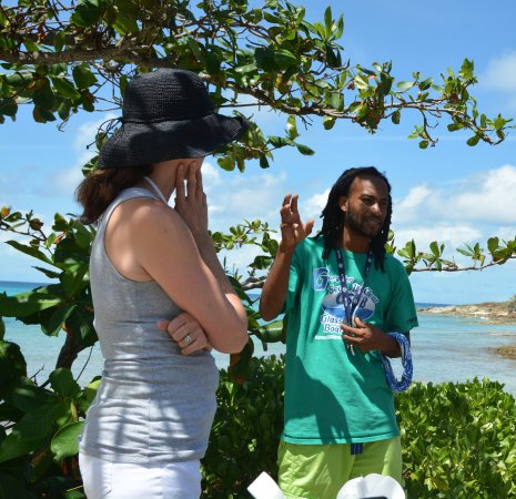 North Sound, Virgin Gorda: Hearing about Gumption's Ted Talk. What an inspiration!