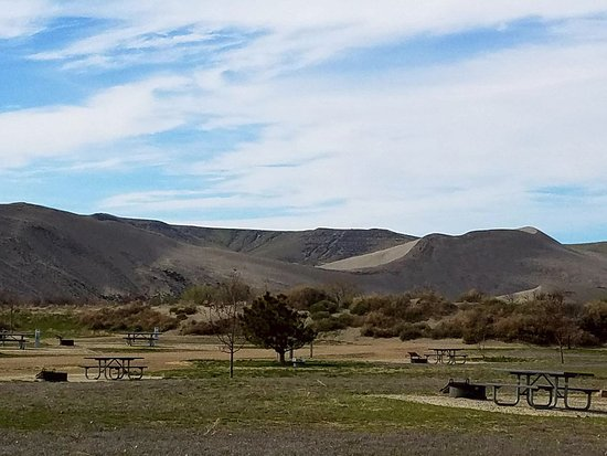 Bruneau, ID: View from the Eagle Campground