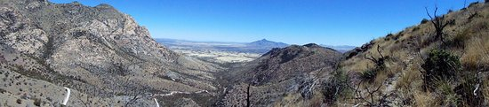 Hereford, AZ: Eastern view from Montezuma Pass