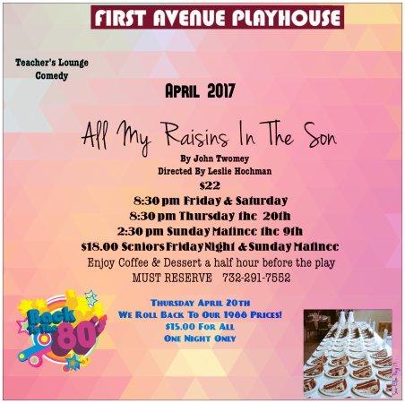 Atlantic Highlands, Nueva Jersey: April Comedy