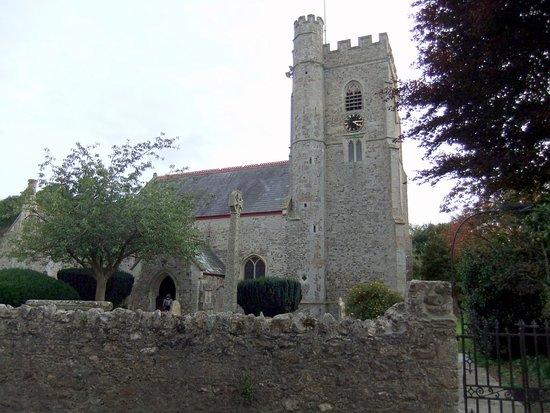 South Devon, UK : Axmouth Church Devon © Robert Bovington