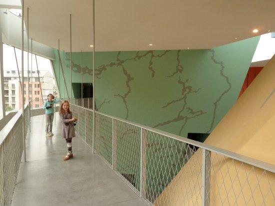 Musée Hergé : A very modern museum.