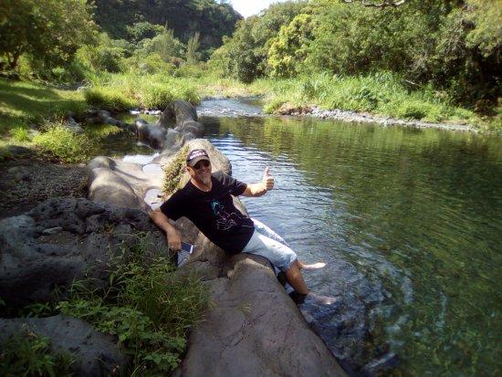 La Saline les Bains, Ile de La Réunion: En mode excursion des FANTASTIK'S        Bassin DINAN Rivière Langevin !!