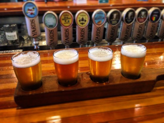 Yards Brewing Company: Get a sampler!