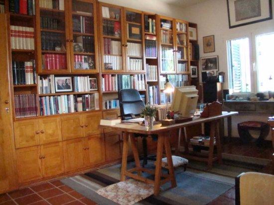 Casa Jose Saramago : le bureau