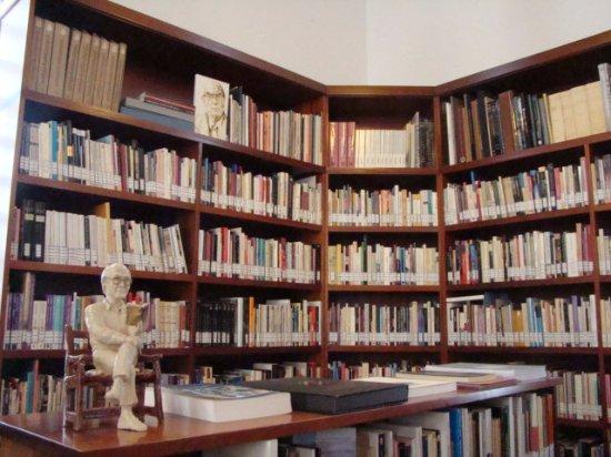 Casa Jose Saramago : l'impressionnante bibliothèque