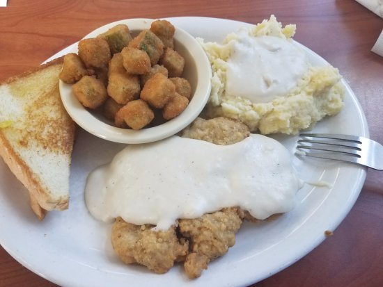 Danville, Арканзас: Chicken Fried Steak